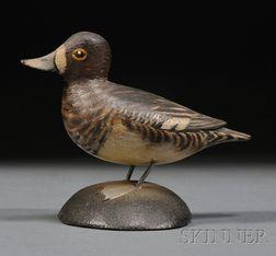 Miniature Lesser Scaup Figure