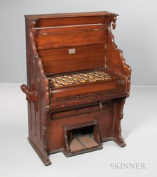 American Enharmonic Harmonium, James Paul White, Springfield, 1883