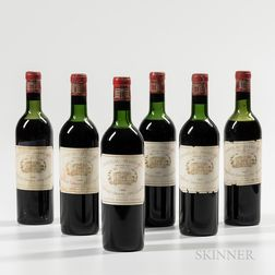 Chateau Margaux 1959, 6 bottles