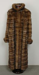 Russian Golden Sable Coat, Bill Blass