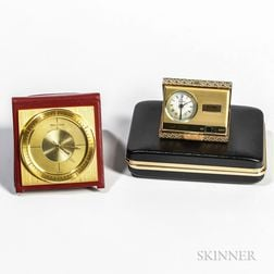 Jaeger LeCoultre Alarm Traveling Clock