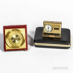 Jaeger LeCoultre Alarm Traveling Clock