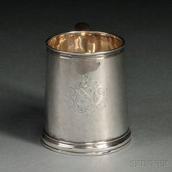 Queen Anne Britiannia-standard Silver Mug