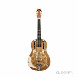 National Triolian Polychrome Resonator Guitar, c. 1931