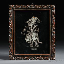 Metal Wire Folk Art Sculpture