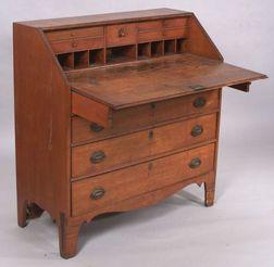 Federal Birch Slant Lid Desk