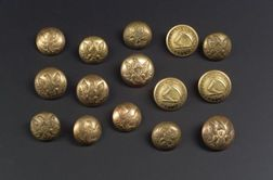 Group of Civil War-era Buttons