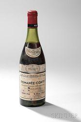 Domaine de La Romanee Conti Romanee Conti 1969, 1 bottle