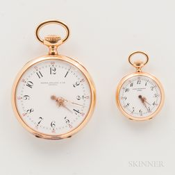 Patek Philippe & Co. 18kt Gold Man's and Woman's Watches