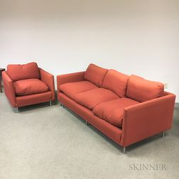 Design Research Sofa and Armchair