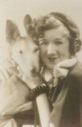 Lot of Two German Shepherd Images:  Howard Proctor (American, 20th Century), Portrait of a Shepherd