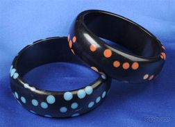 Pair of Bakelite Bangles