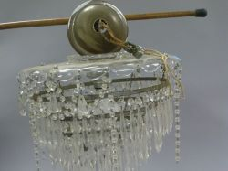 Colorless Glass Hanging Lamp