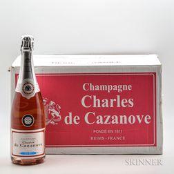 Charles de Cazanove Tradition Brut Rose NV, 12 bottles (oc)