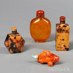 Four Snuff Bottles