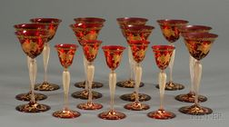 Collection of Venetian Stemware
