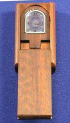 Wood Travel Clock