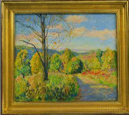 Arthur Ernst Becher (American, 1877-1960)      Beacon Hill (PA)