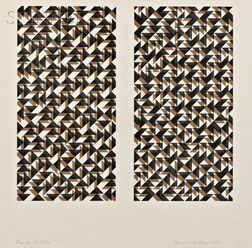 Anni Albers (German, 1899-1994)      Fox II