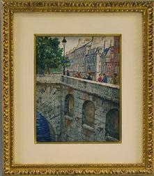 Henry Martin Gasser (American, 1909-1981)      Along The Seine