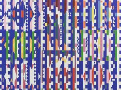 Yaacov (Jacob Gipstein) Agam (Israeli, b. 1928)  Composition.