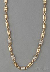 18kt Gold and Diamond Necklace, Van Cleef & Arpels