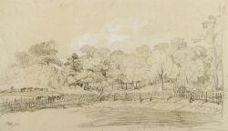 James Ward (British, 1769-1859)  The Pasture, A Sketch