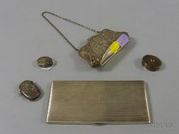 Five Silver Lady's and Personal Items