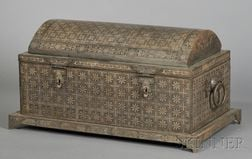 Large Inlaid Islamic Chest