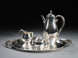 Georg Jensen Coffee Set and Tray