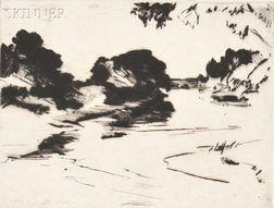 Frank Weston Benson (American, 1862-1951)      Canada River