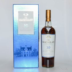 Macallan 30 Years Old, 1 750ml bottle Spirits cannot be shipped. Please see http://bit.ly/sk-spirits for more info.