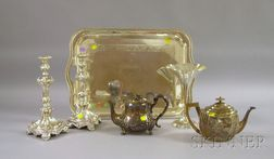 Six Silver and Silver Plated Serving and Table Items