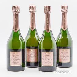 Deutz Cuvee William Deutz Rose Brut 1996, 4 bottles