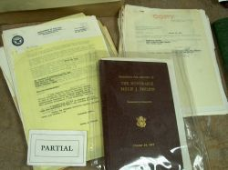 Lot of 1940s Era Papers and Correspondence of Massachusetts Congressman Philip J. Philbin, Clinton, Massachusetts.