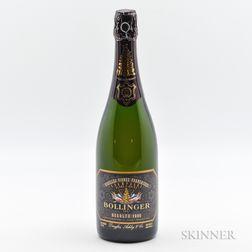 Bollinger Vieilles Vignes Francaises Blanc de Noirs 1990, 1 bottle