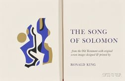 (Bible)   King, Ronald. The Song of Solomon