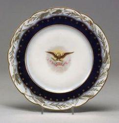 Limoges President Harrison Service Plate