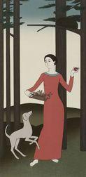 Will Barnet (American, b. 1911)  Persephone