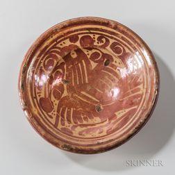 Hispano-moresque Lustre-glazed Bowl