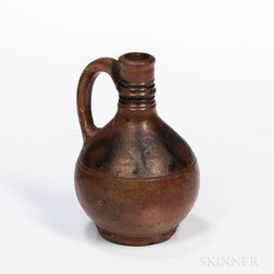Small Cobalt-decorated Westerwald Stoneware Jug