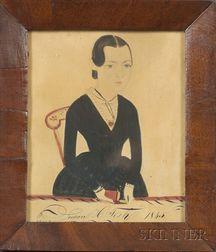 Attributed to Jane A. Davis (American, fl. 1827-1855)