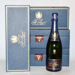 Pol Roger Winston Churchill 2002, 4 bottles