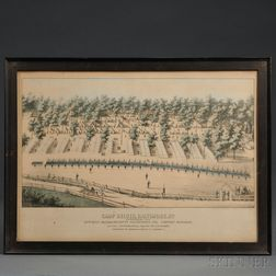 38th Massachusetts Regiment Lithograph