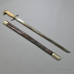 Eagle Pommel Short-sword with Scabbard
