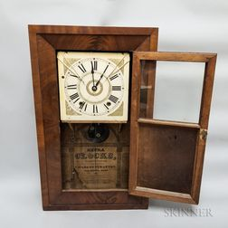 Charles Stratton Shelf Clock