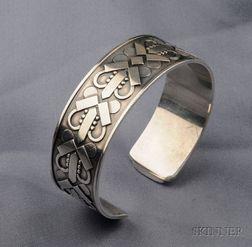 Sterling Silver Cuff Bracelet, Georg Jensen
