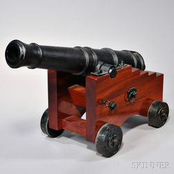 Reproduction Iron Naval Gun