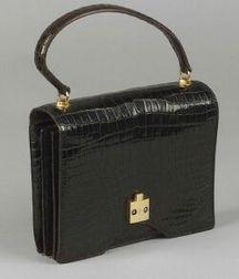 Vintage Alligator Handbag