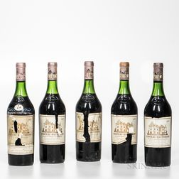 Chateau Haut Brion 1966, 5 bottles